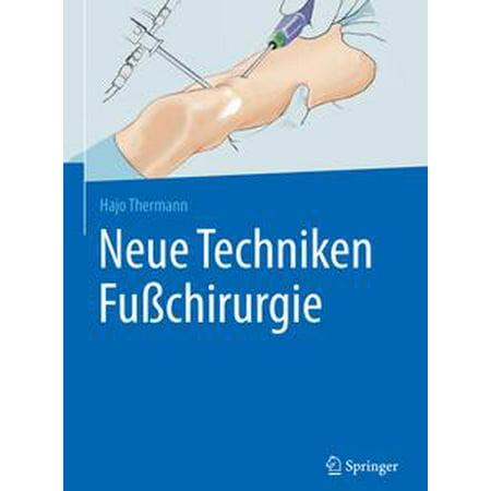 neue techniken fusschirurgie