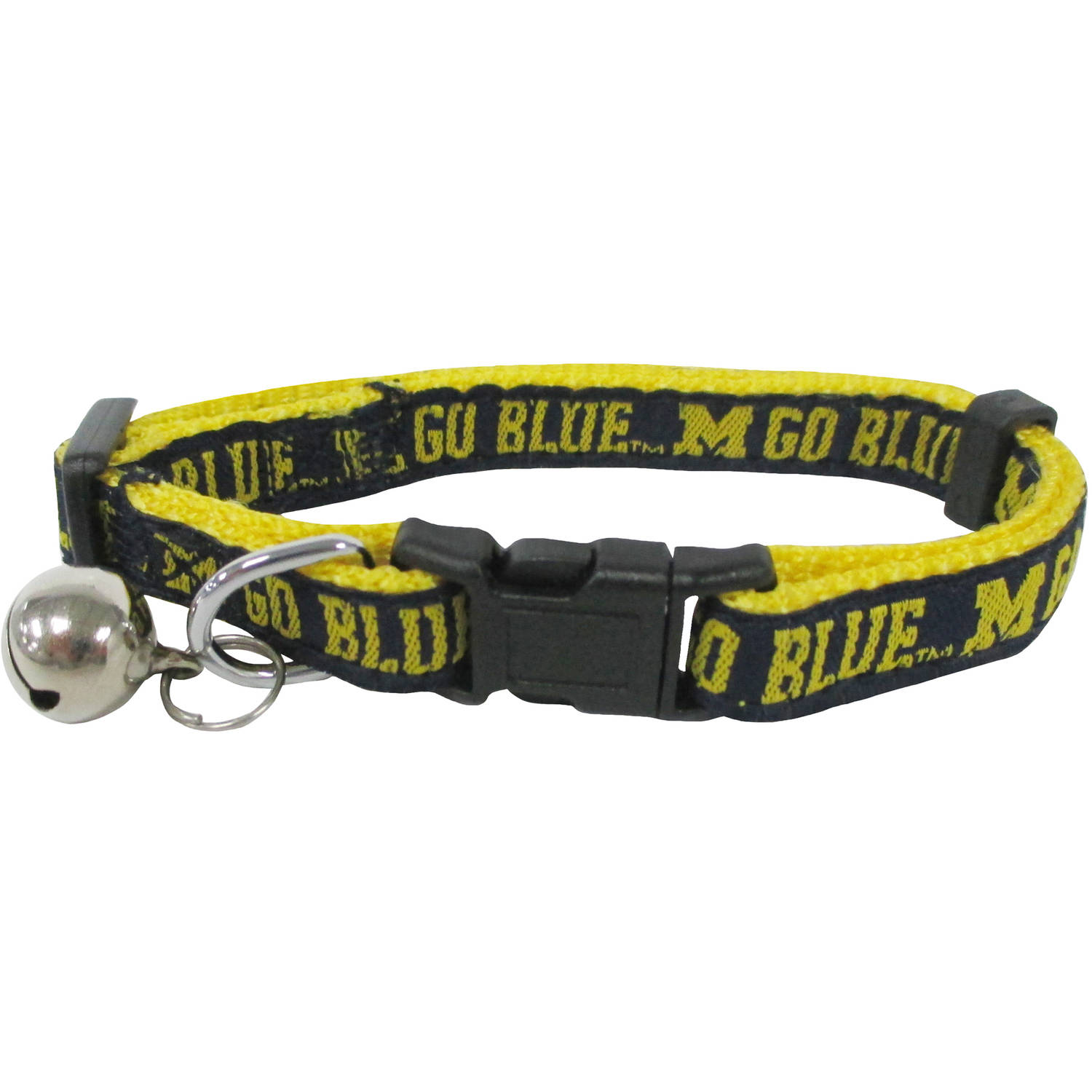 Pets First College Michigan Wolverines Cat Collar