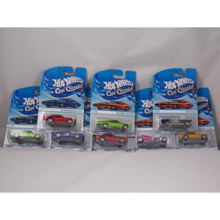 Hot Wheels Cool Classics by Mattel