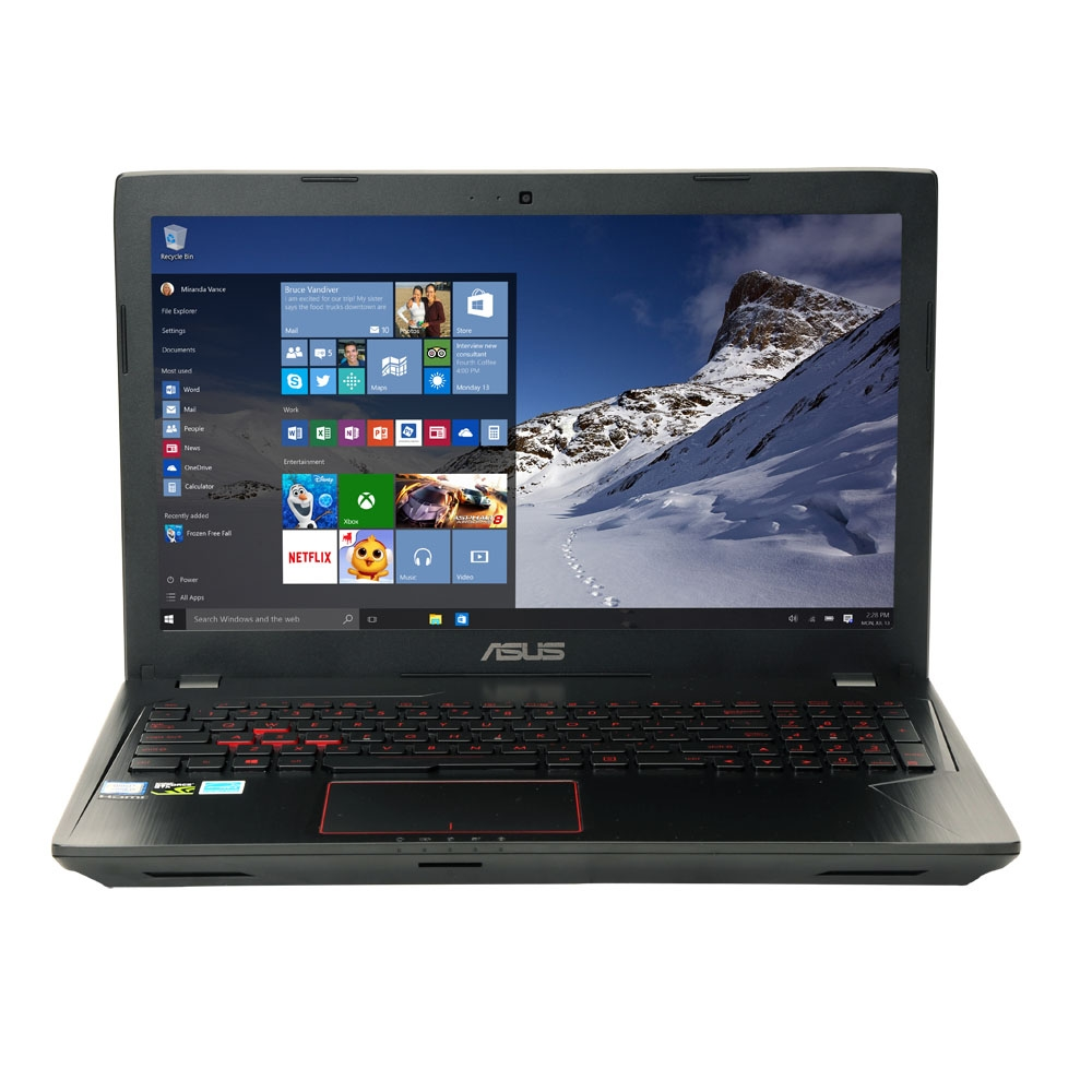 "ASUS FX53VD-MS72 15.6"" Gaming Laptop Computer - Black Metal; Intel Core i7"