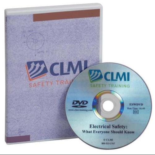 CLMI SAFETY TRAINING CSEDVD Confined Space Entry Training, DVD Only