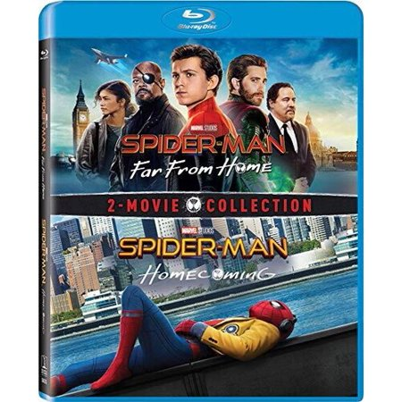 Spider-Man: Far From Home / Spider-Man: Homecoming (Blu-ray + Digital (Copy Rows From One Table To Another Sql)