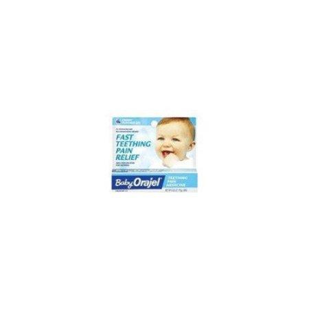 Baby Orajel Teething Pain Medicine Gel Cherry Flavor 0
