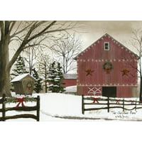 LPG Greetings The Christmas Barn Box of 18 Christmas Cards