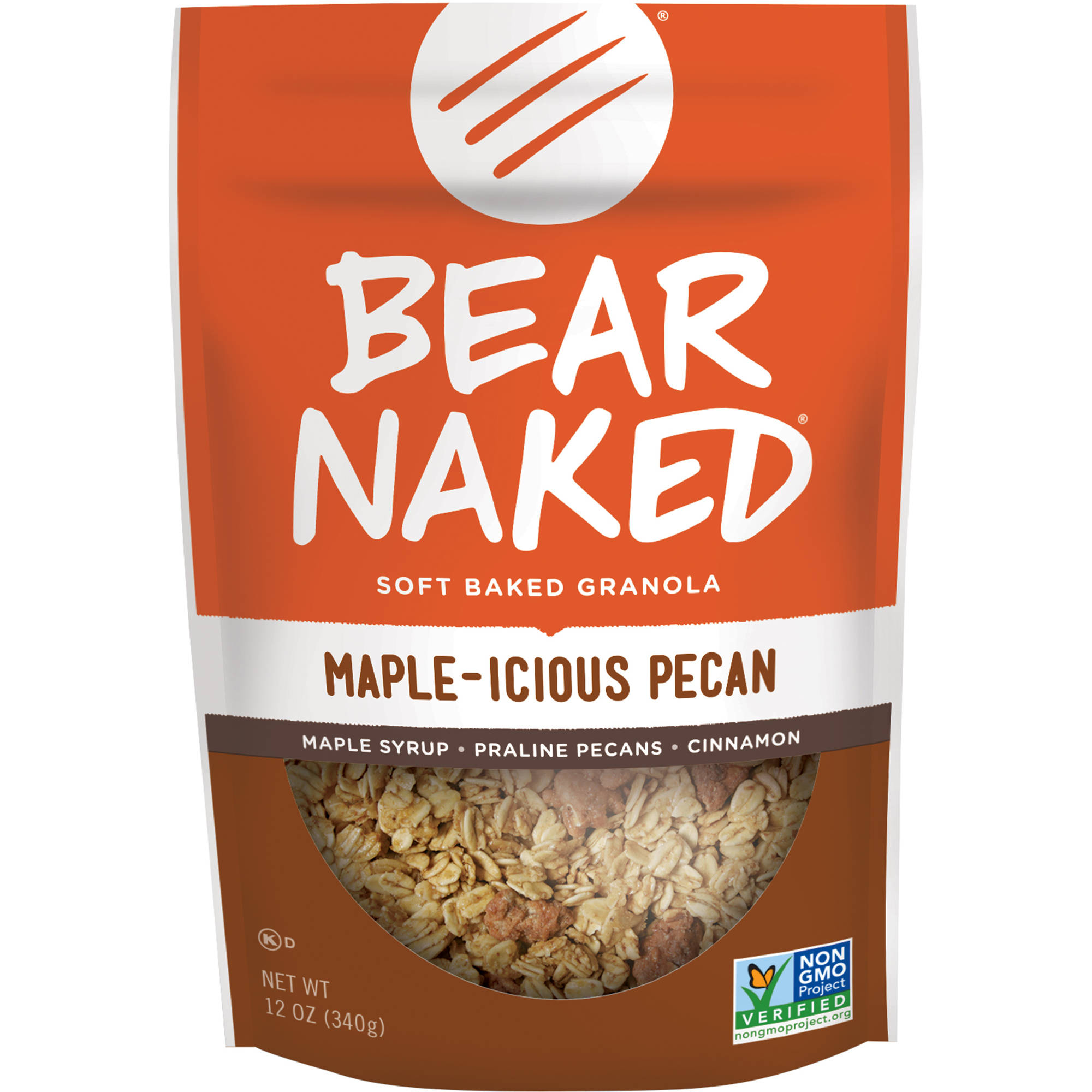 Bear Naked 100% Pure & Natural Maple Pecan Granola, 12 oz