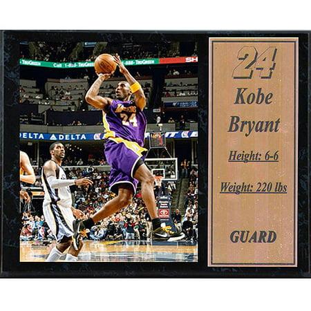 Nba Kobe Bryant Stat Plaque  12X15