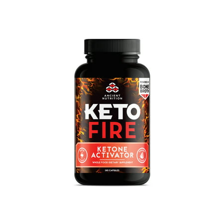 Caffeine Nutrition Facts - Ancient Nutrition KetoFIRE Capsules, Electrolytes and Caffeine, 180 count
