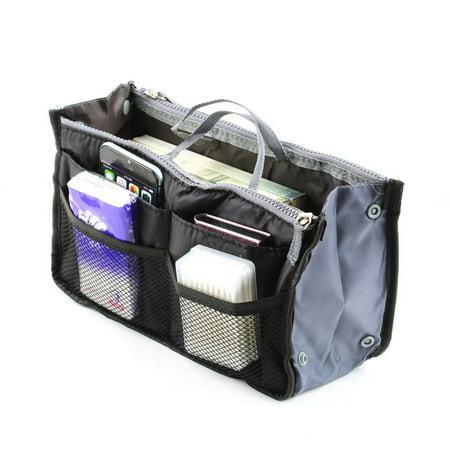 Bag Organizer Insert - Waterproof Lady Women Cosmetic Makeup Bag Organizer Travel Insert Handbag