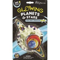 Glow-In-The-Dark Star Packs-Planets & Stars 30/Pkg