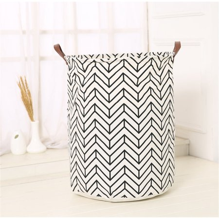 Waterproof Canvas Sheets Laundry Clothes Toy Basket Folding Storage Box