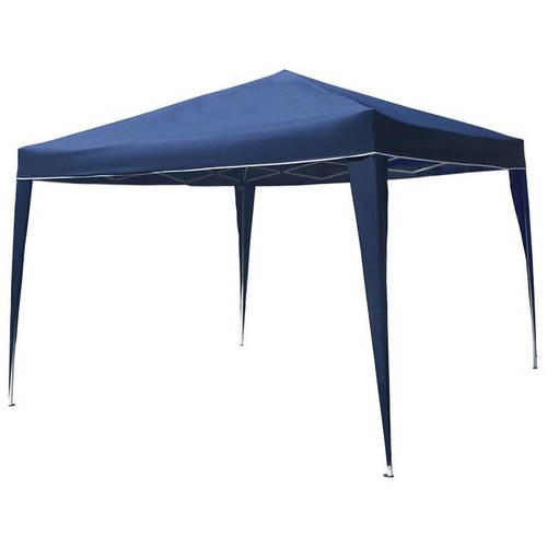 ALEKO GZDW10X10BL 10' x 10' Foldable Gazebo Tent Canopy for Outdoor Events, Blue by ALEKO