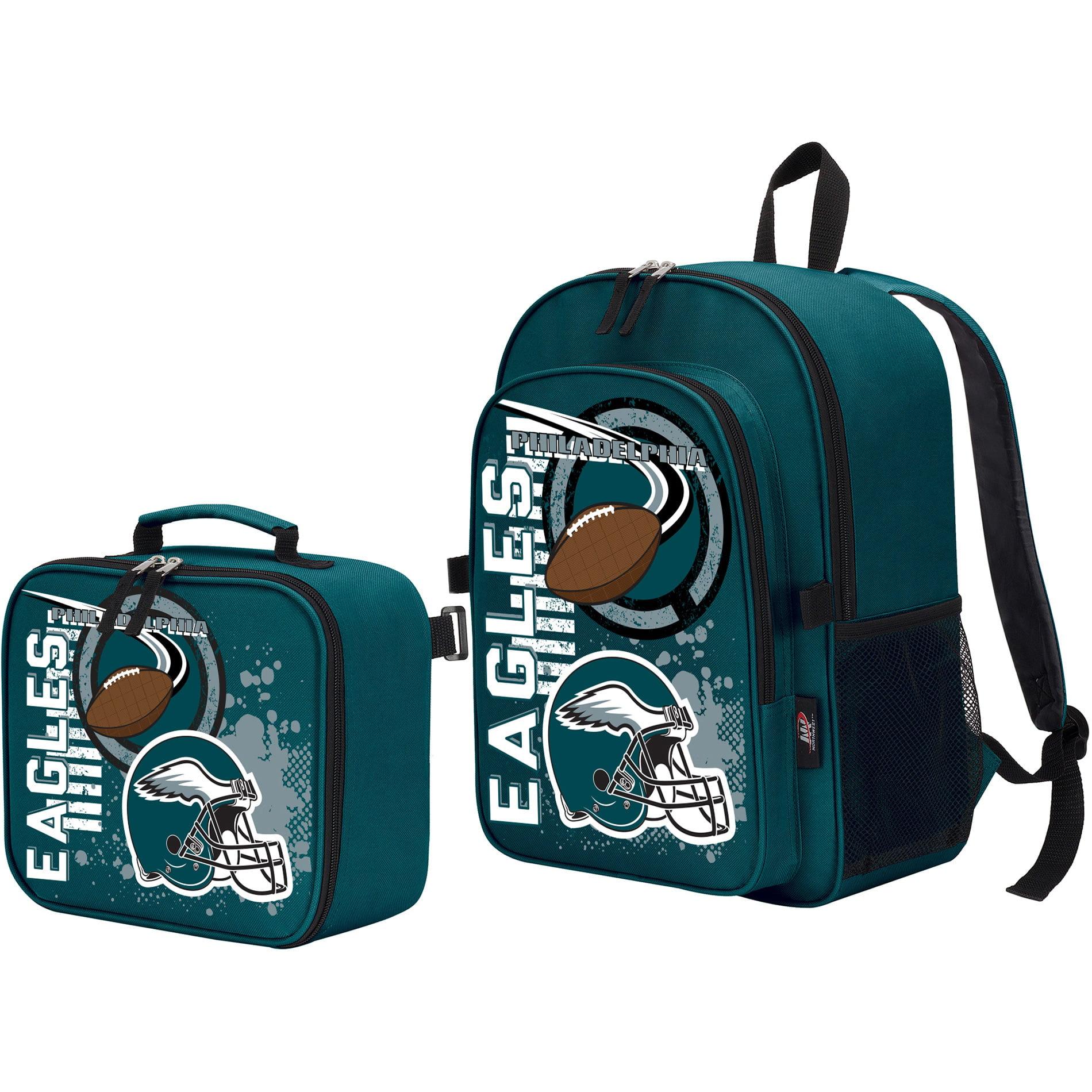 Philadelphia Eagles Diaper Bag and Blanket