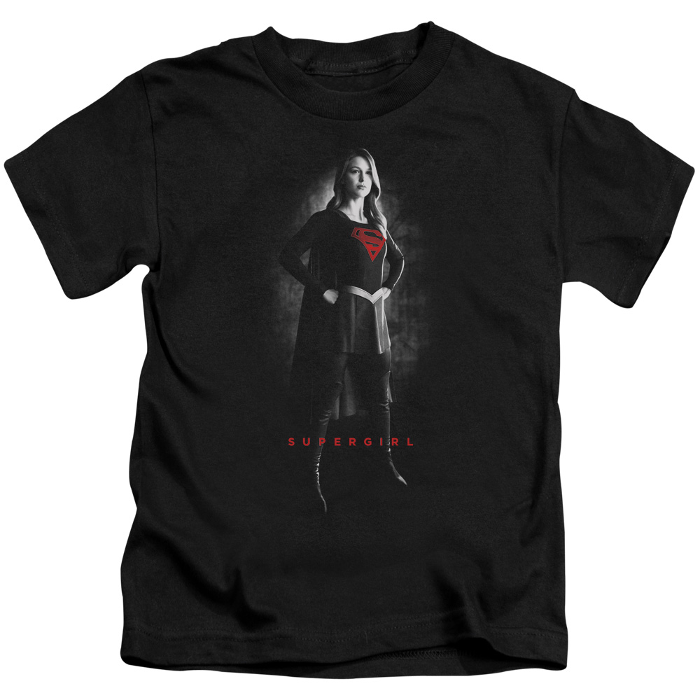 Supergirl Supergirl Noir Little Boys Shirt