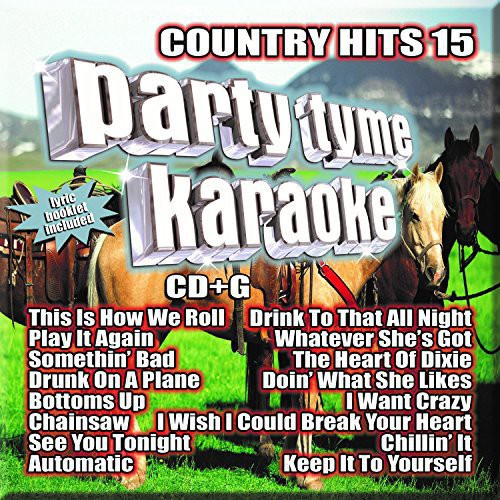 Party Tyme Karaoke : Country Hits 15 (CD)