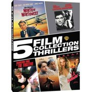 5 Film Collection: Thrillers North By Northwest   Lethal Weapon   The Fugitive   The Shawshank Redemption   L.A.... by