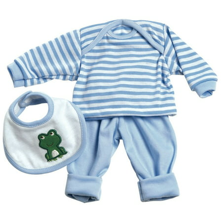 3 Pc. Layette Set - Blue