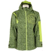 Sessions Decon Glacier Snowboard Jacket Olive Glacier Mens