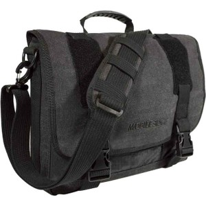 "Mobile Edge MEUME5 ECO Messenger Bag for 15"" Laptop - Ash"