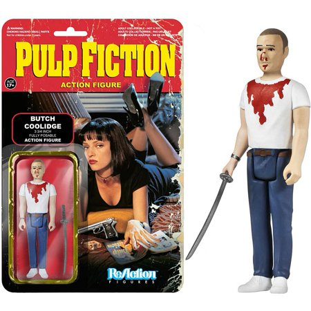 Pulp Fiction Butch Coolidge ReAction Figure, Classic Movies by Funko