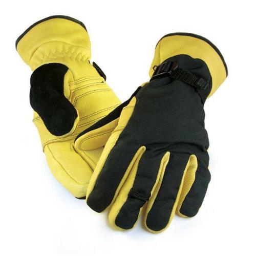 Northstar Mens Deerskin Ski Glove 3M Thinsulate, Waterproof, Windproof 064T