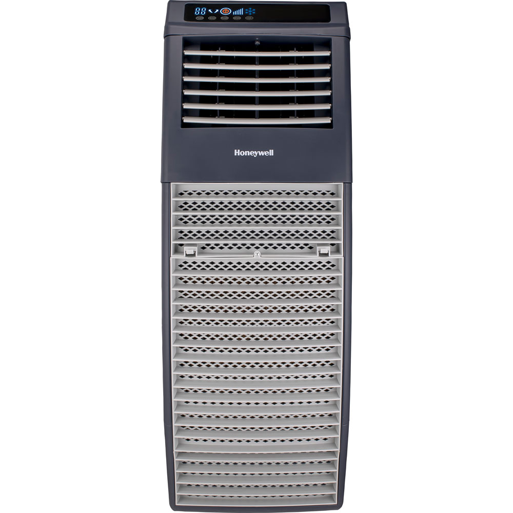Honeywell CO301PC 830 CFM 460 sq. ft. Outdoor Portable Evaporative Air Cooler (Swamp Cooler) with Remote Control, Gray