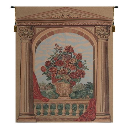 La Terasse Tapestry Wall Hanging - A - H 63 x W 52 - image 1 of 1