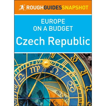 Czech Republic (Rough Guides Snapshot Europe on a Budget) - eBook