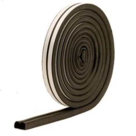 """M-D Products 01025 Black Marine and Auto EPDM Weatherstrip, 5/16"""" x 11/32"""" x 17"""""""