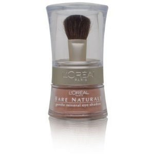 - L'Oreal Bare Naturale Gentle Mineral Eye Shadow with Brush - # 406 - Bare Gold