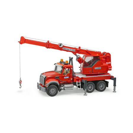 MACK Granite Crane Truck with Light and Sound