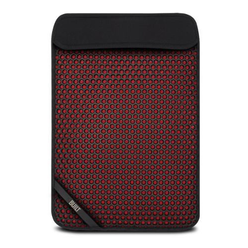 "BUILT MX Neoprene Slim Sleeve for 13"" Notebooks, Black & Red"