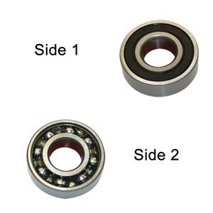 Superior Electric SE 6000-RS-D Replacement Ball Bearing - Seal/open,ID 10 mm x OD 26 mmx W 8 mm Milwaukee 02-04-1005