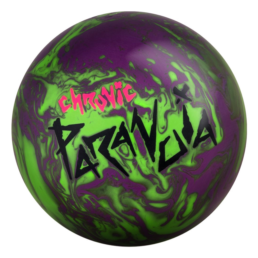 Motiv Chronic Paranoia Bowling Ball (15lbs) by MOTIV Bowling Products