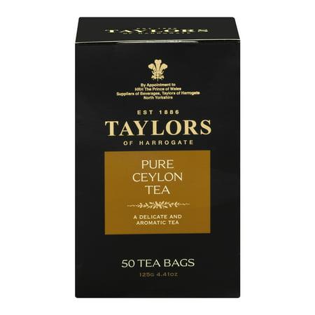 Taylors Of Harrogate Pure Ceylon Tea - 50 CT50.0 CT