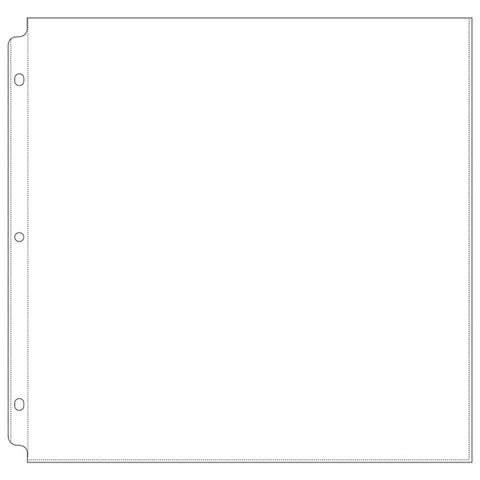 Page Protector 12X12 10Pk