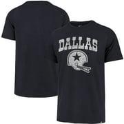 Dallas Cowboys '47 Throwback Lockup T-Shirt - Navy