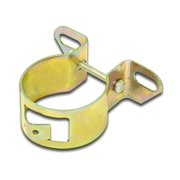 Mallory 29221 Super Duty Coil Bracket; Dichromate/Gold;