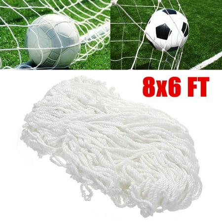 87743fda5 8x6 FT Full Size Football Soccer Goal Post Net For Outdoor Sports Training  Match - image ...