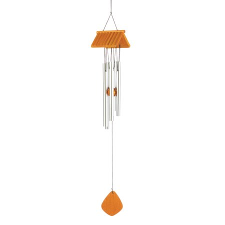 Wind Chime Outdoor, Large Tube Wind Chimes String Wood And Aluminum Metal (Sold by Case, Pack of 36)