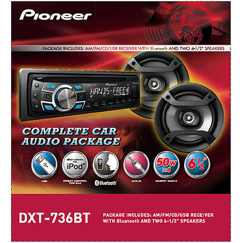 pioneer dxt 736bt complete car audio package walmart com rh walmart com Pioneer Deh Pioneer Man Working