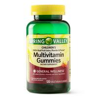 Spring Valley Children's Multivitamin Gummies, 120 Ct