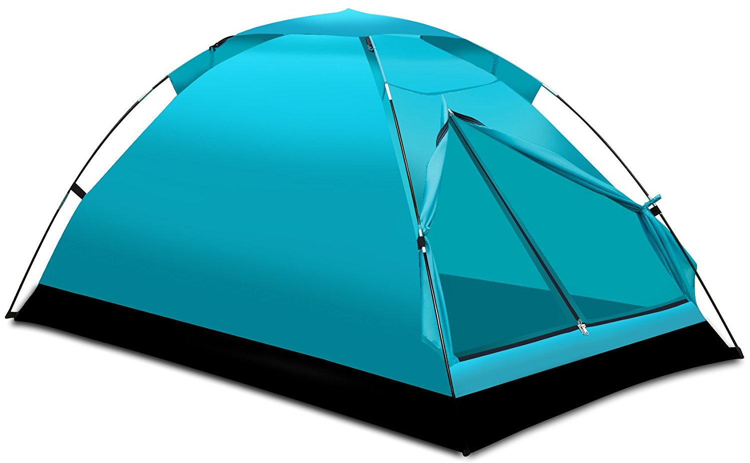 Camping Tent Outdoor Travelite Backpacking Light-Weight Family Dome Tent 2 Person, 2 Season Instant Portable Shelter... by Alvantor