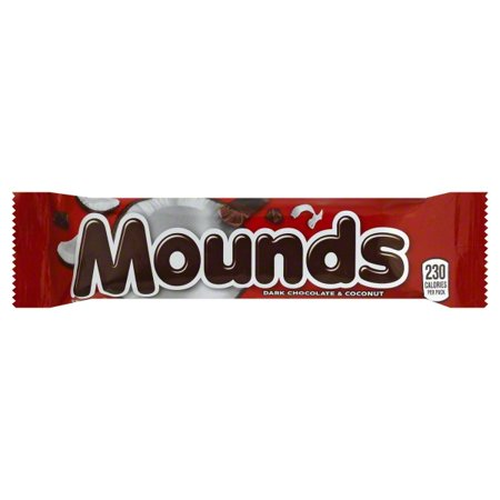 MOUNDS Candy Bar, 1.75 oz