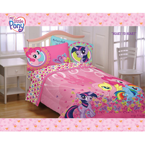 My Little Pony Heart to Heart Comforter