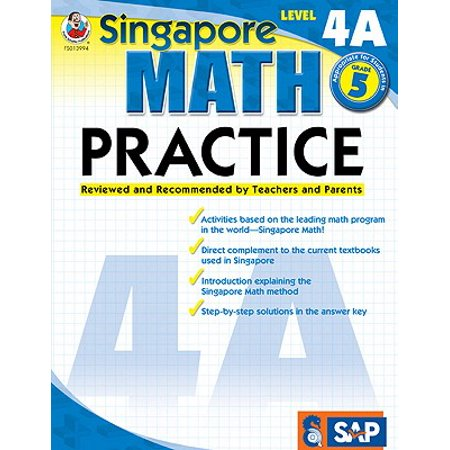 Math Practice, Grade 5 : Reviewed and Recommended by Teachers and Parents