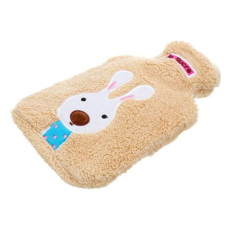 Bolero Bag - Cartoon Rabbit Plush Case Hot Water Bottle Bag Warm Rubber Relaxing Heat Cold Therapy Warm Soft Good Touching