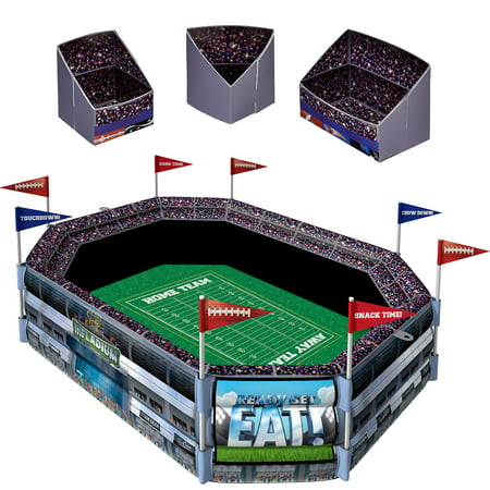 Sunny Anderson's Infladium: The Inflatable Snack Stadium, Cooler, Football Party - Football Snack Stadium