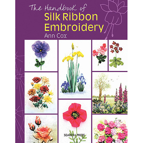 Search Press Books, The Handbook Of Silk Ribbon Embroidery