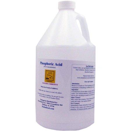 1 Gallon 85% Food Grade Phosphoric Acid Rust Remover Clean Etch Metal