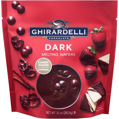 Ghirardelli Chocolate Dark Melting Wafers, 10 oz